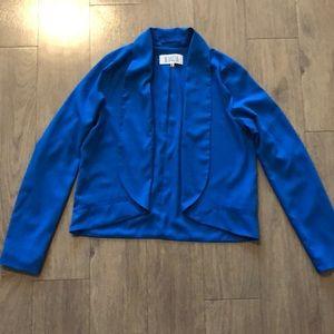 Lightweight blue blazer